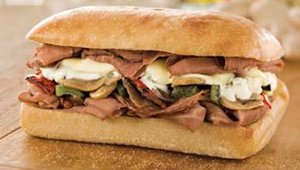 Fazoli's also added sandwiches such as its Italian Beef Gorgonzola submarino.