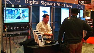 Black Box's George Borden spoke at the show on avoiding digital signage disasters.