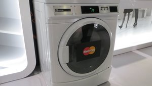 <p><em>Last year, MasterCard and Whirlpool came together to find a way to digitize payments for commercial washers and dryers. The companies are now testing this in a few markets, including Boston and New York City. Customers can use a mobile app called Clothespin to pay for the machinesand monitor their availability.</em></p>