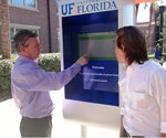 Solar kiosks soak up Florida sun