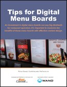 Tips for Digital Menu Boards