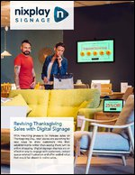 Reviving Thanksgiving Sales with Digital Signage