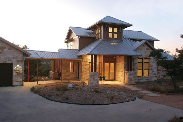 Award winning houses feature net zero texas home proud for Zero energy homes texas