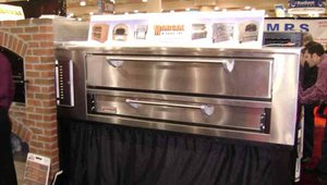 Deck pizza ovens have always been a staple in New York pizzerias, and their popularity is increasing elsewhere in the country. Oven manufacturer Marsal & Sons displayed the latest in deck ovens at the show.