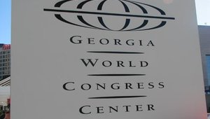 The event took place at the Atlanta, Georgia World Congress Center.