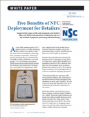 Five Benefits of NFC Deployment for Retailers