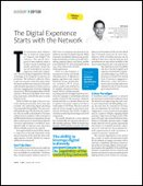 The Digital Experience Starts with the Network