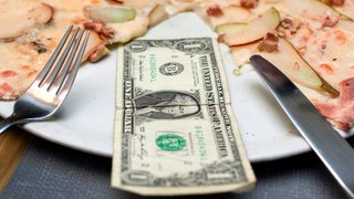 A smart new source for pizza payment, financial info
