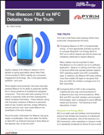 The iBeacon/BLE vs NFC Debate: Now the Truth