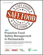 Proactive Food Safety Management in Restaurants