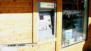 A Tranax ATM is located in a South Lake Tahoe retail district. Tranax held its 2006 annual conference nearby.