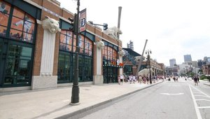 Detroit Tigers Store at Comerica Park, Opening Day 2011