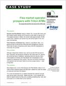 Flea market operator prospers with Triton ATMs