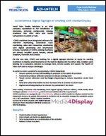 Autonomous Digital Signage in Vending with Media4Display
