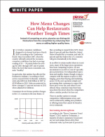 How Menu Changes Can Help Restaurants Weather Tough Times