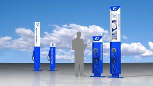 The next big thing in self service solutions: interactive EV charging kiosks