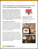 Tutta's Pizza Powers Up Customer Service with LRS Guest Pagers