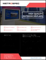 High Quality Outdoor Displays
