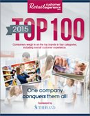 2015 Retail Customer Experience Top 100