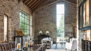 Restored 1800s Dairy Barn Celebrates Timeless Style