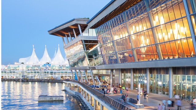 Vancouver convention center achieve rare LEED feat
