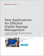 New Applications for Efficient Digital Signage Management