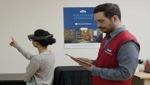Home renovation design experience goes high tech at Lowe's