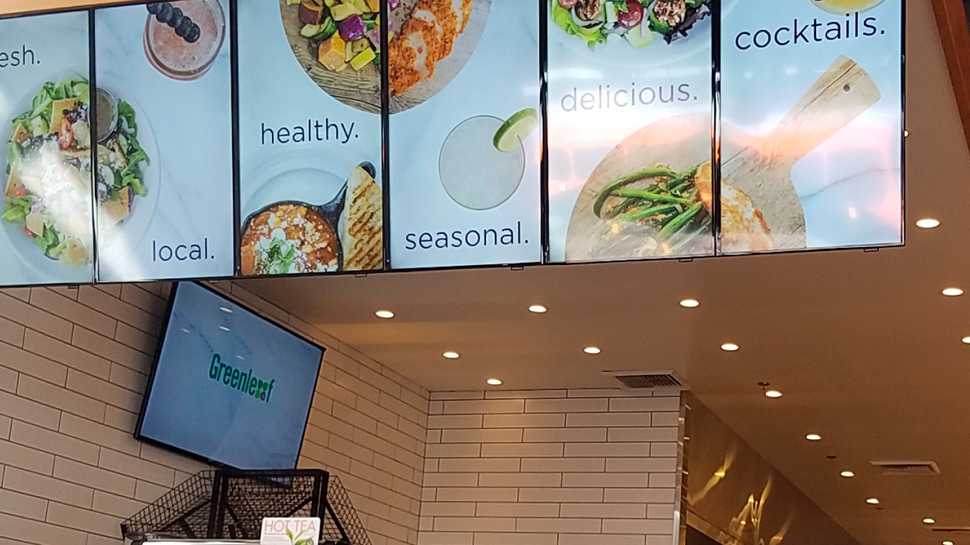 Digital menu boards bring the farm to the table