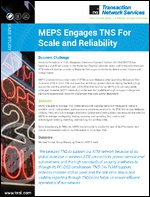 Case Study: MEPS Engages TNS for ATM Network Scale and Reliability