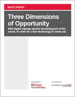 Three Dimensions of Opportunity
