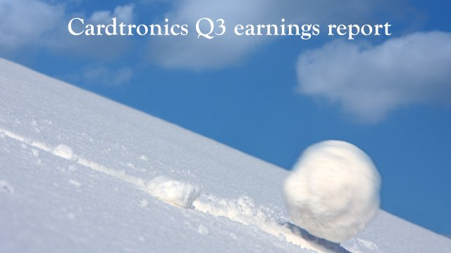 How Cardtronics aims to capitalize on the 'snowball effect'
