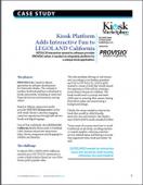 Kiosk Platform Adds Interactive Fun to LEGOLAND California