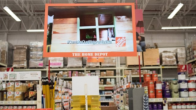 Home depot projects in store
