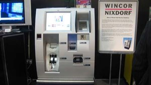 Although the Wincor Nixdorf Beetle POS System was the official SuperStar deployment for the company, product sales executive Chris Chappill showed Wincor's pay terminal, an integral part of Wincor's self-service transaction process.