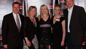 <p>Taylor Company sponsored the gala and brought a few of its executives to honor the Top 100 winners.</p>