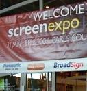 Digital signage shines at London show