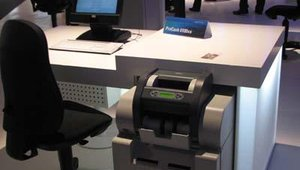 Automating cash handling for the teller: the ProCash 6100ex.