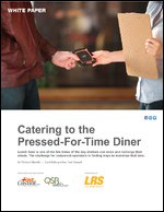 Catering to the Pressed-For-Time Diner