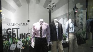 Marqsmen Window Signage, Spring Campaign