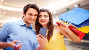 Mobile devices, digital signage working together