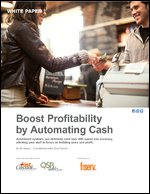 Boost Profitability by Automating Cash