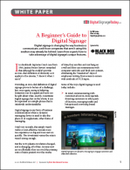 A Beginner's Guide to Digital Signage
