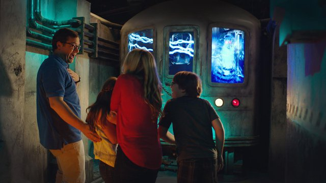 Digital signage calls the Ghostbusters