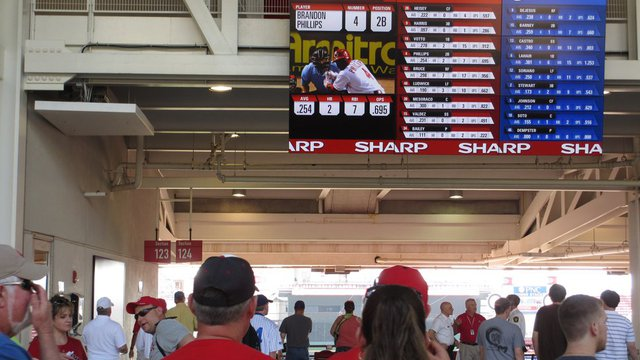 Digital signage scores with stadium customer experience