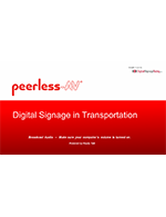 Webinar: Get on board with digital signage in transportation