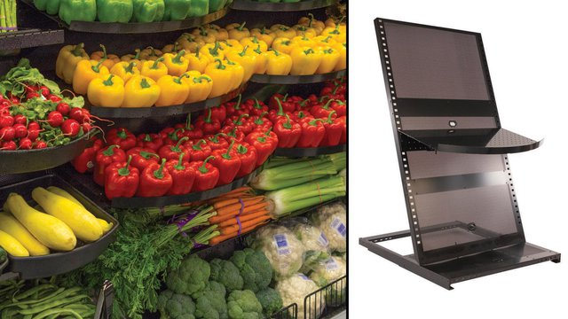 storage stackable set metal w mygift wheels pantry img rolling bin kitchen rack wire organizer of produce black