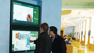 Engagement is primary for digital signage