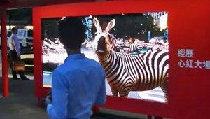 Augmented reality digital signage brings the Serengeti to the streets of Hong Kong