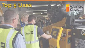 Top 5 uses for employee computer kiosks in manufacturing