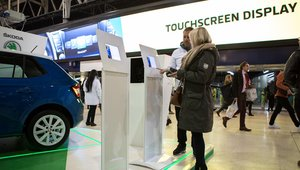 Skoda takes digital signage for a test drive at Waterloo Station